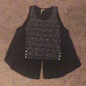 a656cd331312 comfy U.S.A. Other - Black Jumpsuit and Crop Top Set